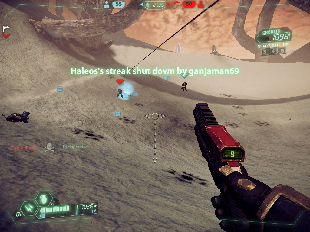 Tribes: Ascend Windows If you want to find a good reason for killing people in Team Deathmatch, stop it. There isn't one except increasing the kill count.