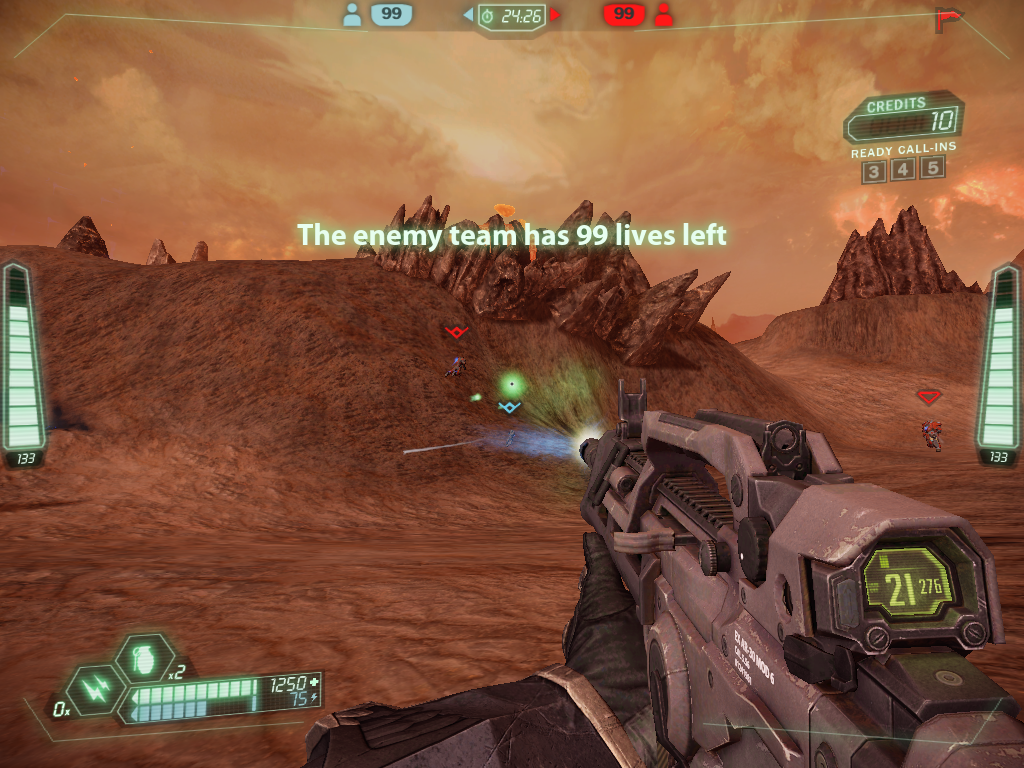 Tribes: Ascend Windows Shooting while skiing - this is why Tribes is so much fun (more Team Deathmatch).