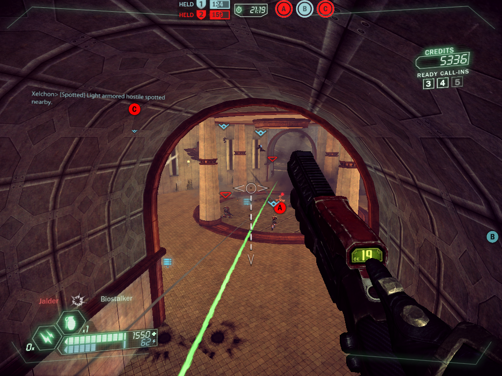 Tribes: Ascend Windows Point A on the Outskirts map is always a slaughterfest (Capture and Hold).
