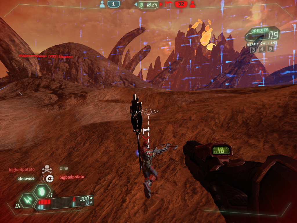 Tribes: Ascend Windows Where are you taking that flag?! Give it back now! (Team Deathmatch)