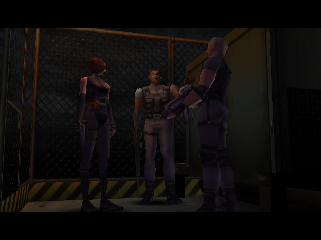 Dino Crisis Dreamcast Sequence before exploring