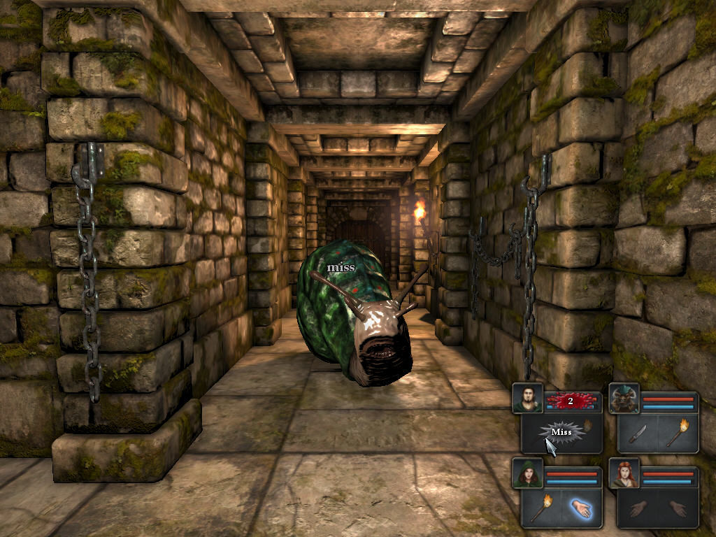 Legend of Grimrock Windows Giant Slug