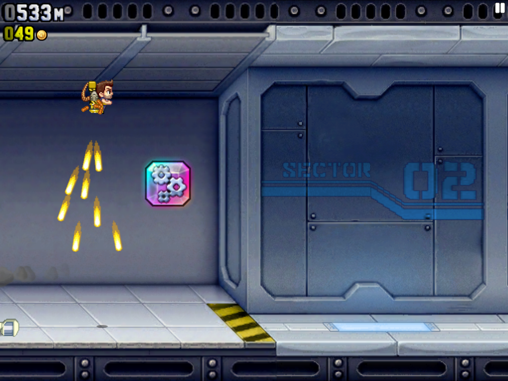 Jetpack Joyride iPad Vehicle icon! Go get it!..