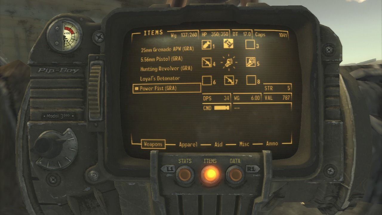 Fallout: New Vegas - Gun Runners' Arsenal PlayStation 3 You can easily recognize new weapons and ammo as they all have (GRA) mark next to their name.