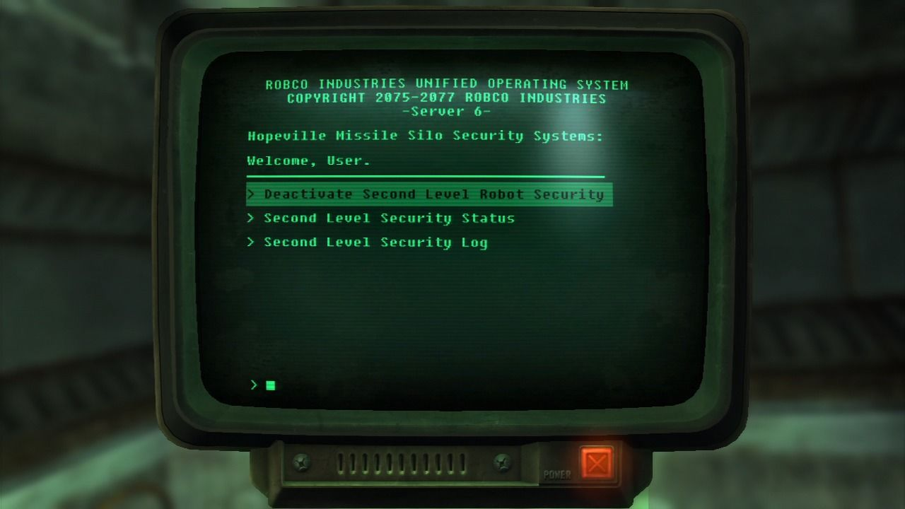 Fallout: New Vegas - Lonesome Road PlayStation 3 You can take the bot security head on, or simply hack the terminal and deactivate them.