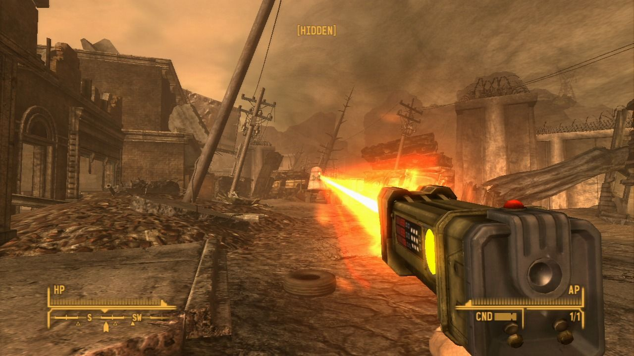 Fallout: New Vegas - Lonesome Road PlayStation 3 You can use laser detonator to detonate old nuclear warheads lying around the area.