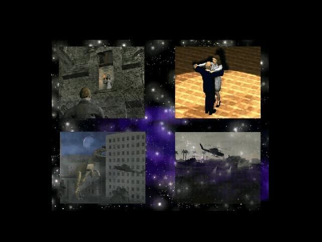 "DreamLand: Final Solution Windows Intro 5 - fantasies of the whole family. The game upholds the dichotomy presented in the intro itself - ""real word"" is 2D animation, virtual realities are rendered in 3D"