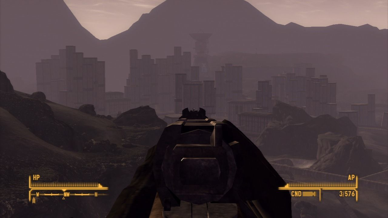 Fallout: New Vegas - Old World Blues PlayStation 3 Checking the horizon.
