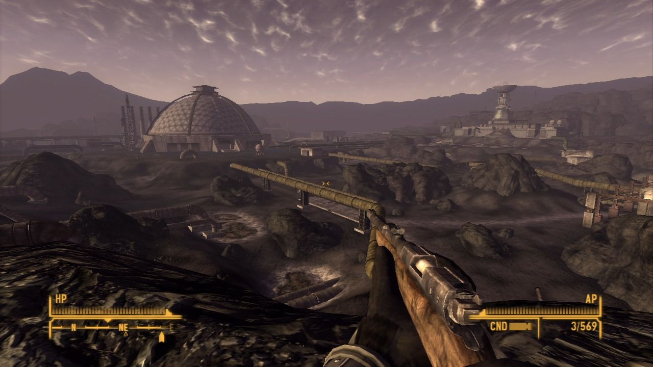 Fallout: New Vegas - Old World Blues PlayStation 3 The Big Empty is not so empty as the name might imply.