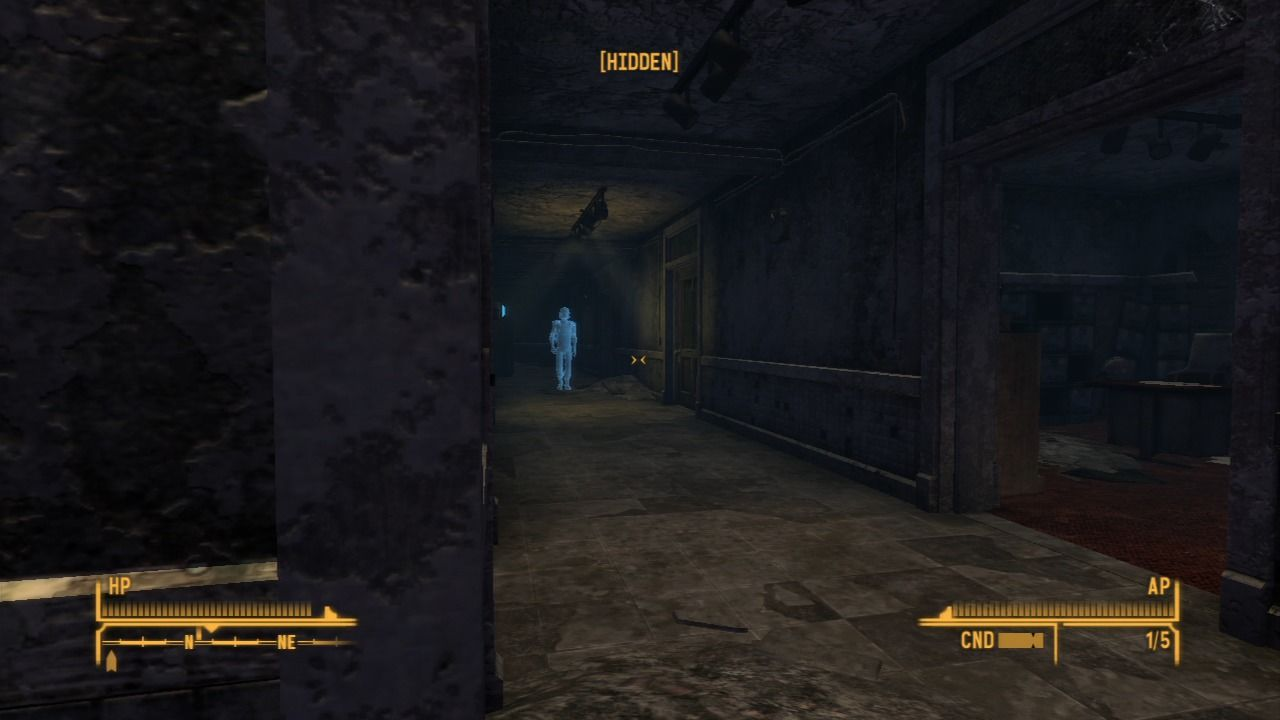 Fallout: New Vegas - Dead Money PlayStation 3 Better stay out of their sight, but holograms tend to have limited radius of movement.