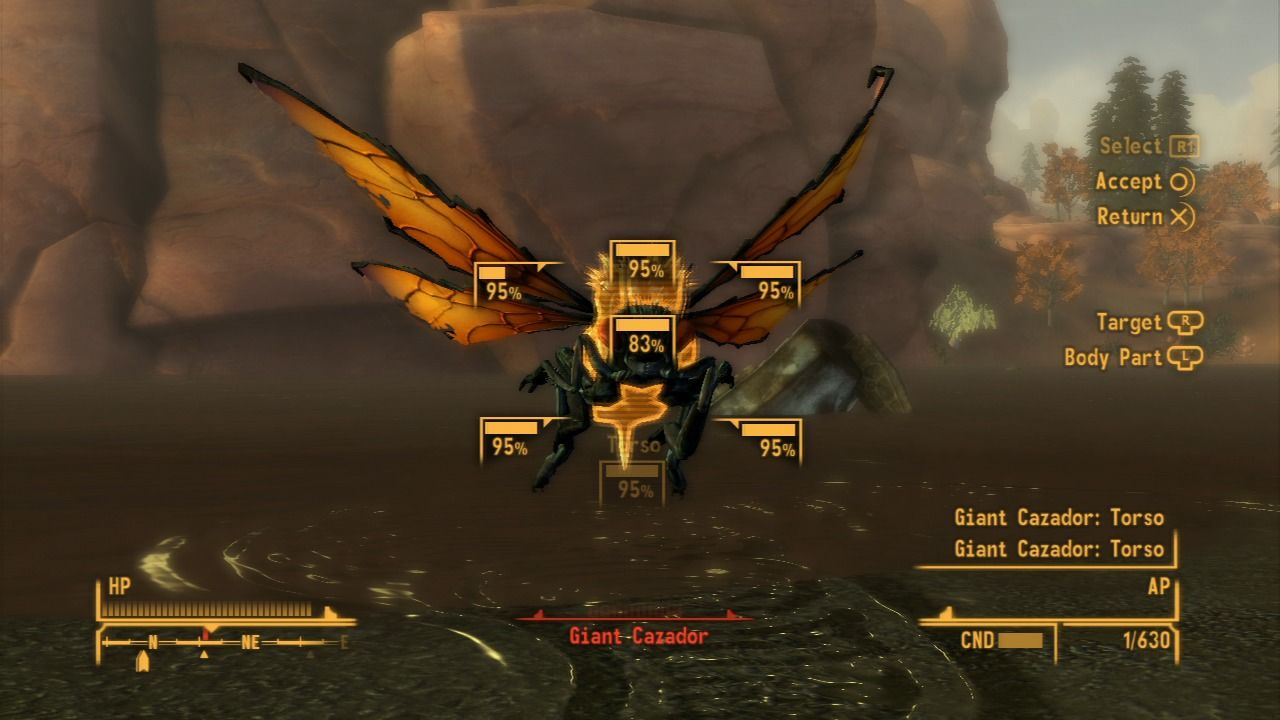 Fallout: New Vegas - Honest Hearts PlayStation 3 Cazadors are fast and can surprise you when you least expect.
