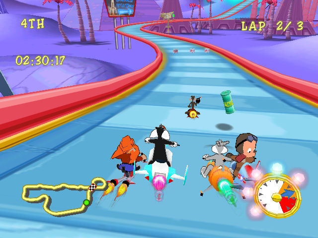 Looney Tunes: Space Race Screenshots for Dreamcast - MobyGames
