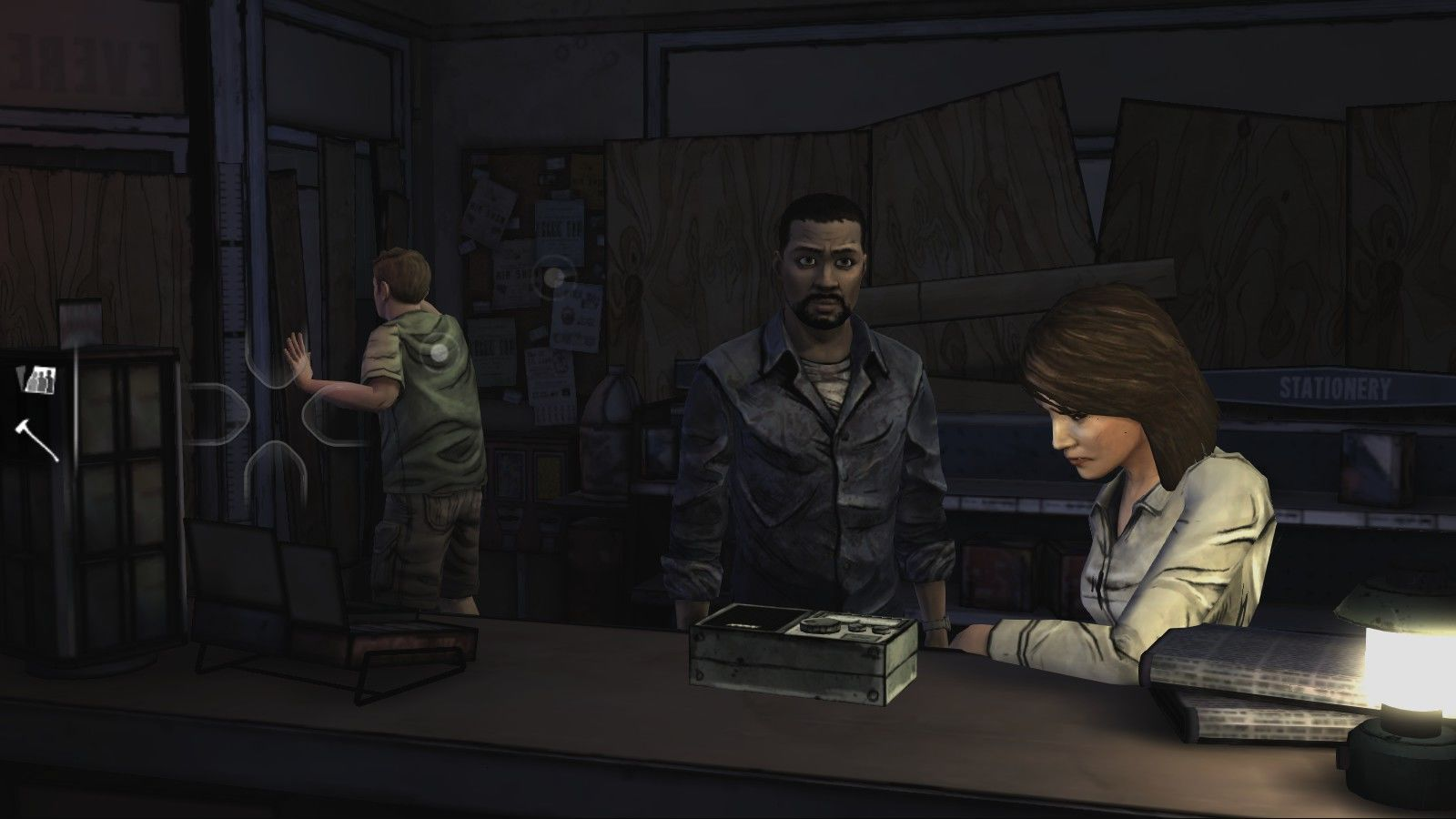 The Walking Dead Windows Episode 1 - Meeting the other survivors. Not all of them are nice people...