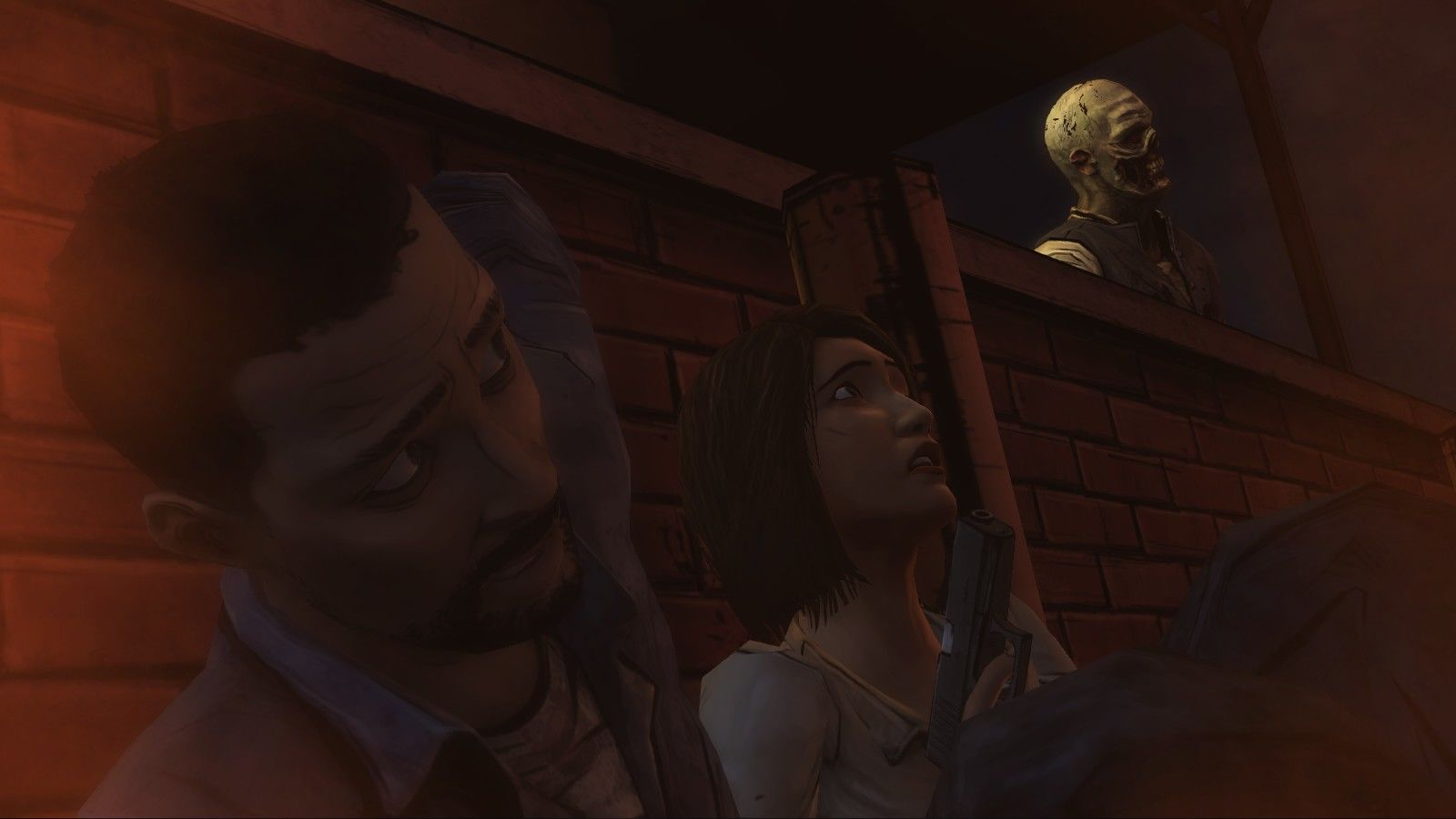 The Walking Dead Windows Episode 1 - That was close.