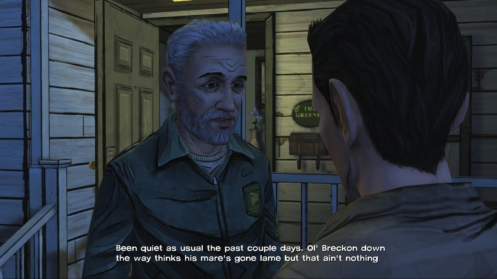 The Walking Dead Windows Episode 1 - Hershel is one of the characters from the comics appearing in the game