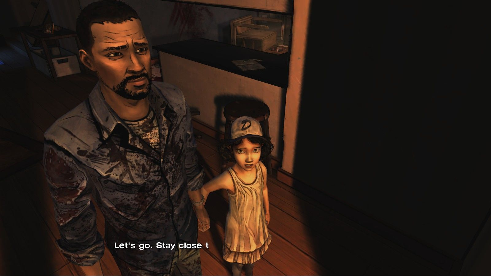 The Walking Dead Windows Episode 1 - Meeting Clementine, a little girl you'll have to protect.