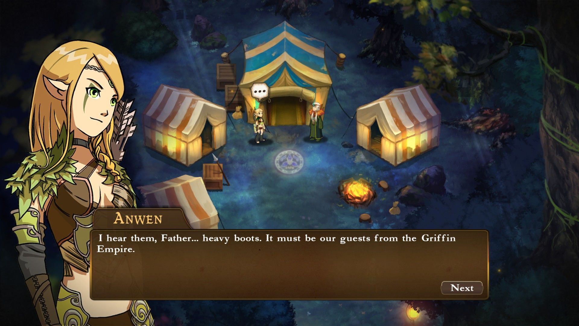Might & Magic: Clash of Heroes Windows Introducing Anwen, the Elf