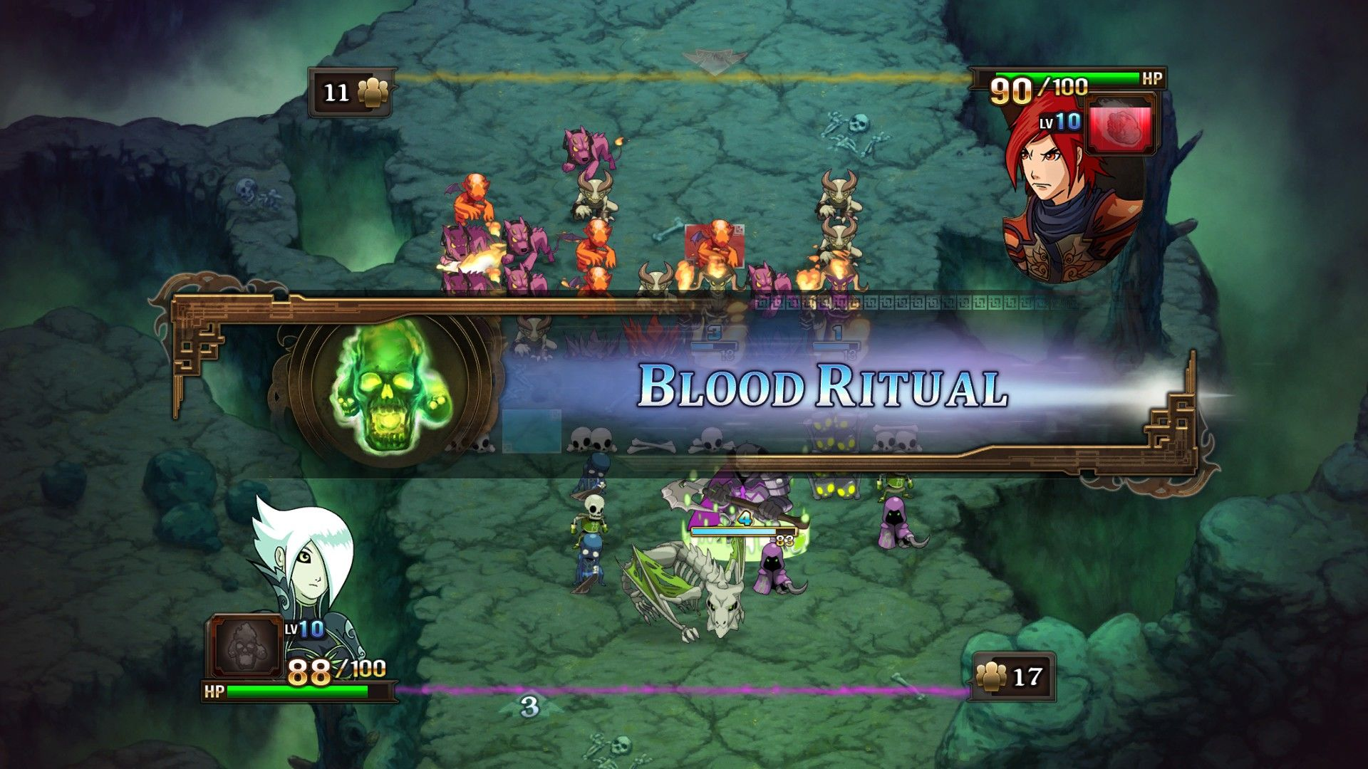 Might & Magic: Clash of Heroes Windows Using Fiona's unique ability: the Blood Ritual