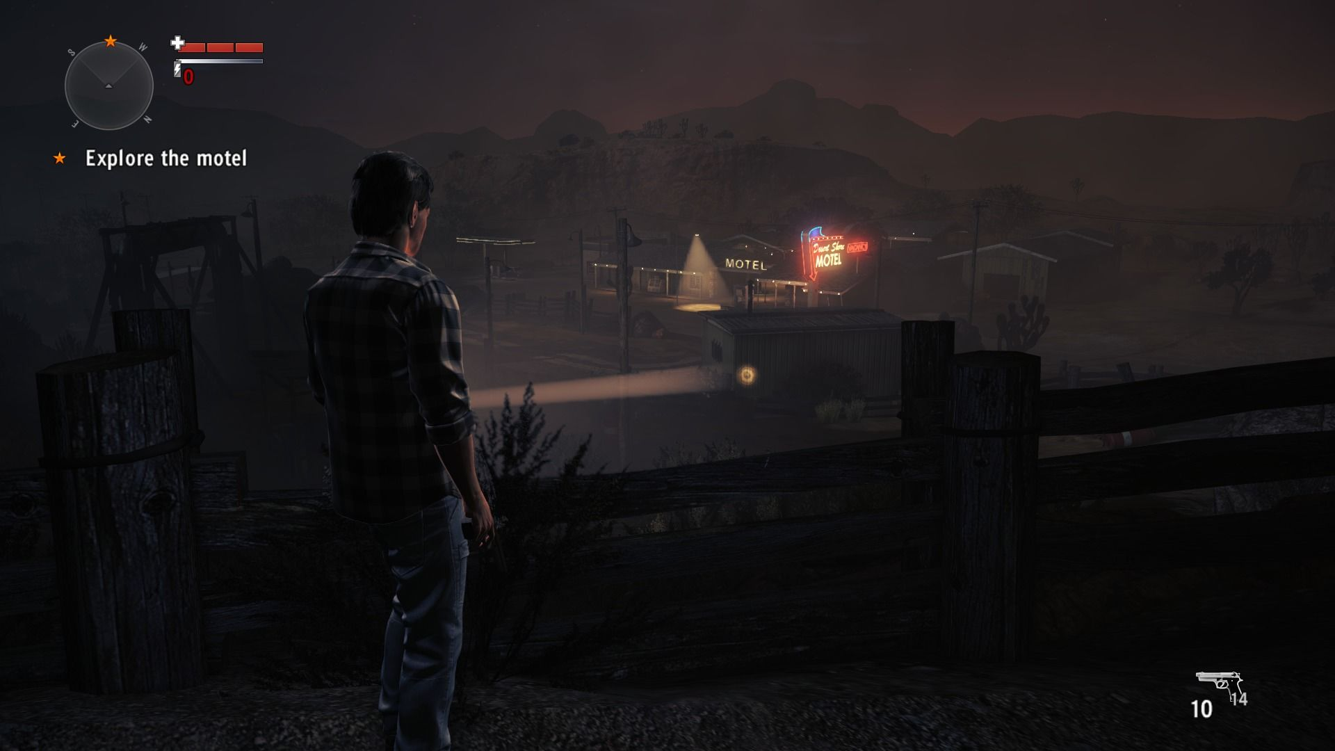 Alan Wake's American Nightmare Windows There might be someone who can give me some answers at the motel.