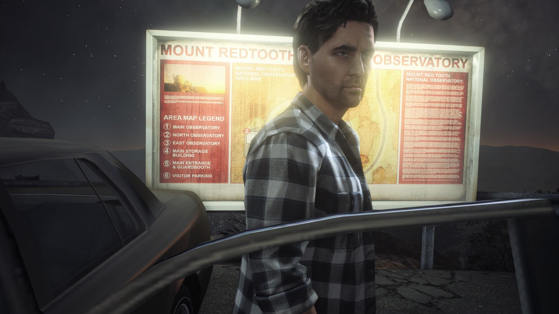 Alan Wake's American Nightmare Windows Arriving at the observatory.