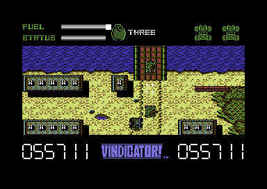 The Vindicator! Commodore 64 Driving your jeep.
