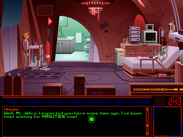Space Quest 6: Roger Wilco in the Spinal Frontier DOS Sharpei