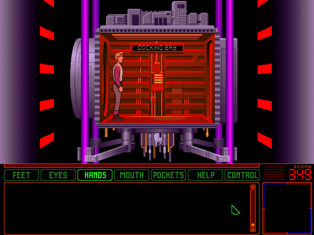 Space Quest 6: Roger Wilco in the Spinal Frontier DOS Elevator