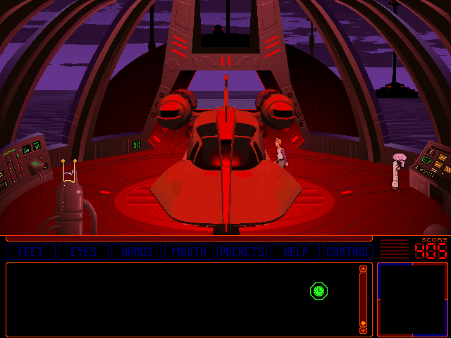 Space Quest 6: Roger Wilco in the Spinal Frontier DOS Roger is out to boldly go where no janitor has gone before... to outer... I mean inner space!
