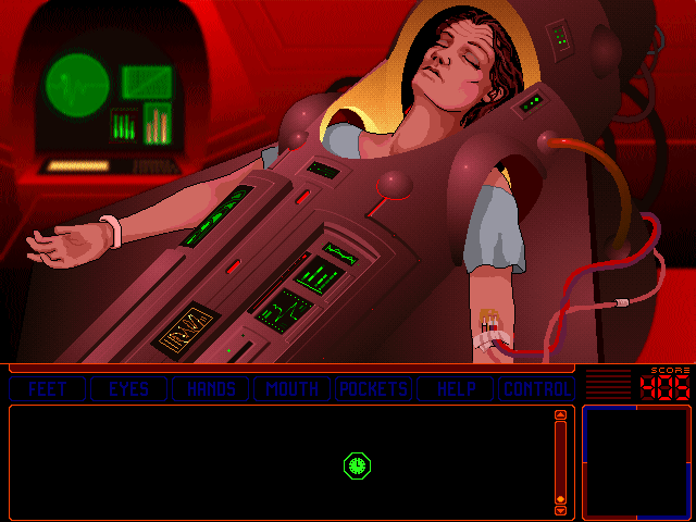 Space Quest 6: Roger Wilco in the Spinal Frontier DOS Stella