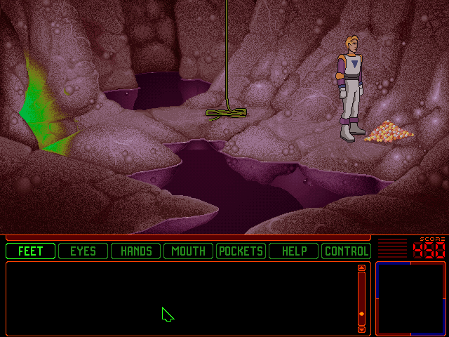 Space Quest 6: Roger Wilco in the Spinal Frontier DOS This reminds me of the DIG for some reason - which also came out the same year