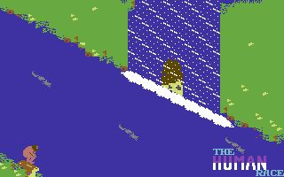 new concept 73e01 ca11a The Human Race Screenshots for Commodore 64 - MobyGames