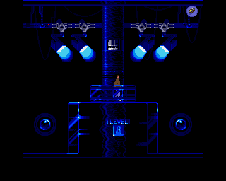 Flashback: The Quest for Identity Amiga Level 3 - This level has a blue palette for the most part.