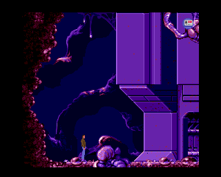 Flashback: The Quest for Identity Amiga Alien planet.