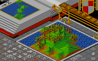 Populous Amiga Forest.