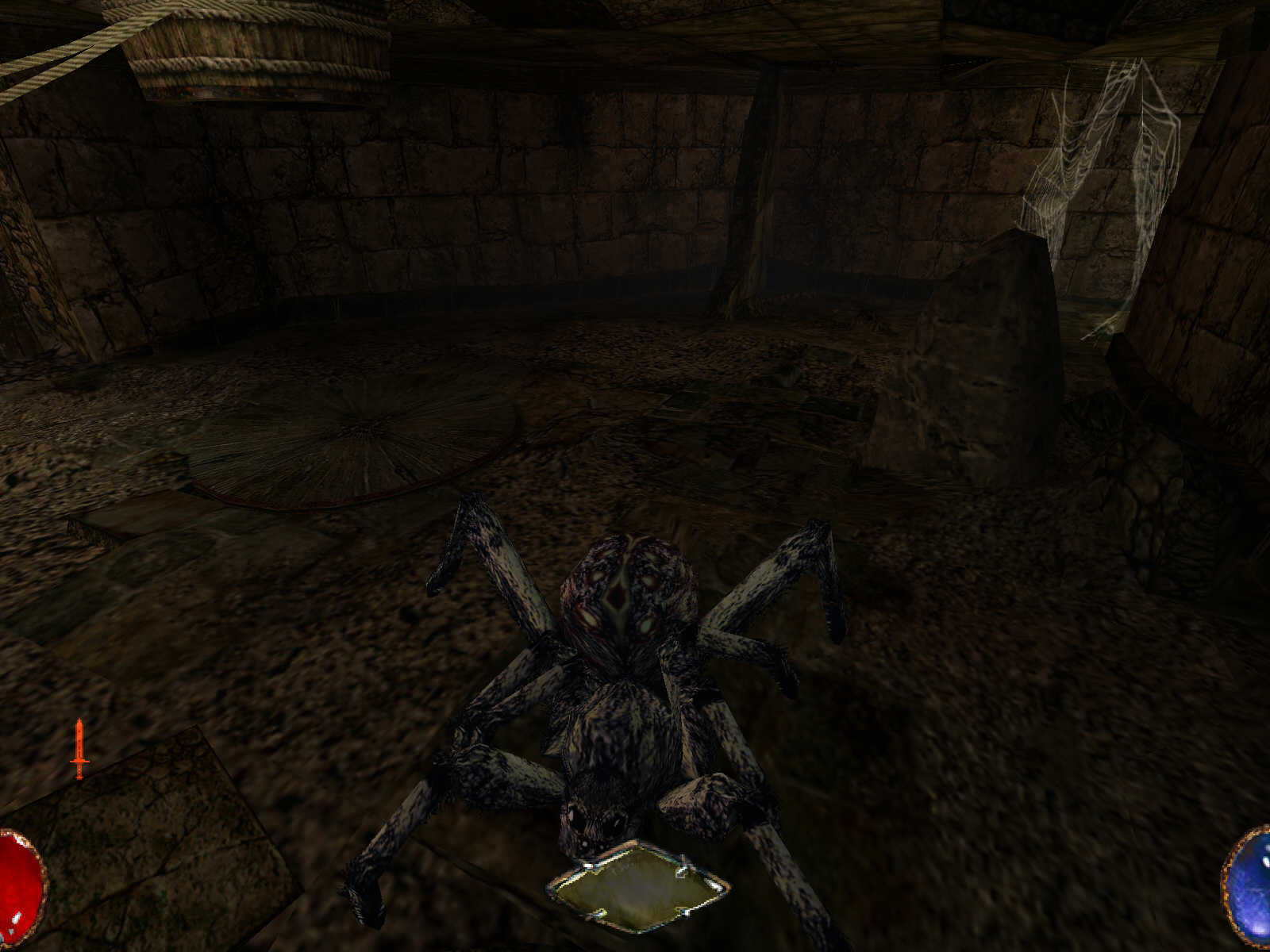 Arx Fatalis Windows Giant Spider!