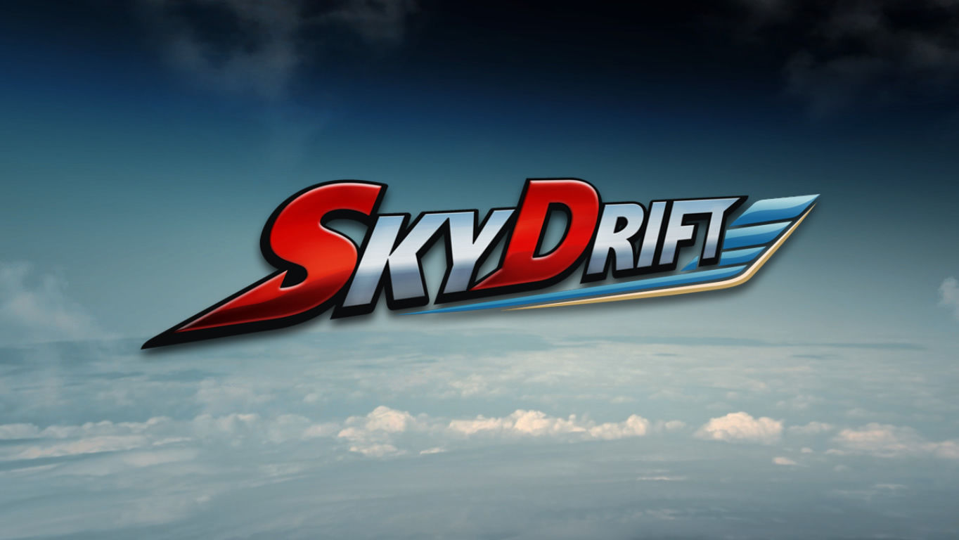 SkyDrift Windows Title screen