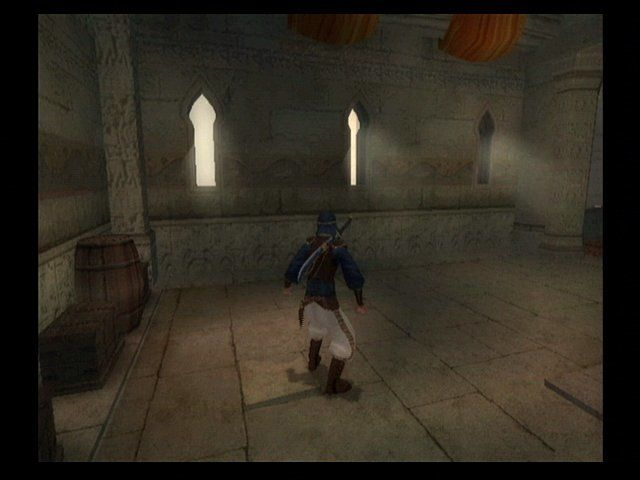 Prince of Persia: The Sands of Time GameCube Subtle Lighting Effects