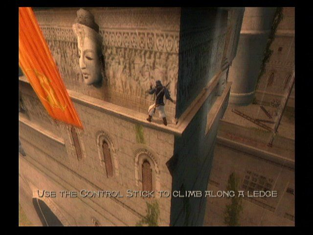 Prince of Persia: The Sands of Time GameCube Ledge Climbing