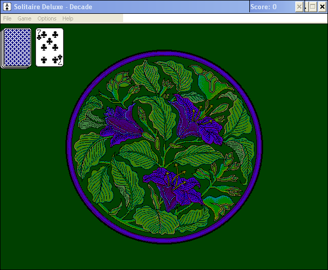 Solitaire Deluxe Windows 3.x Decade