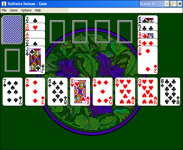 Solitaire Deluxe Windows 3.x Gate