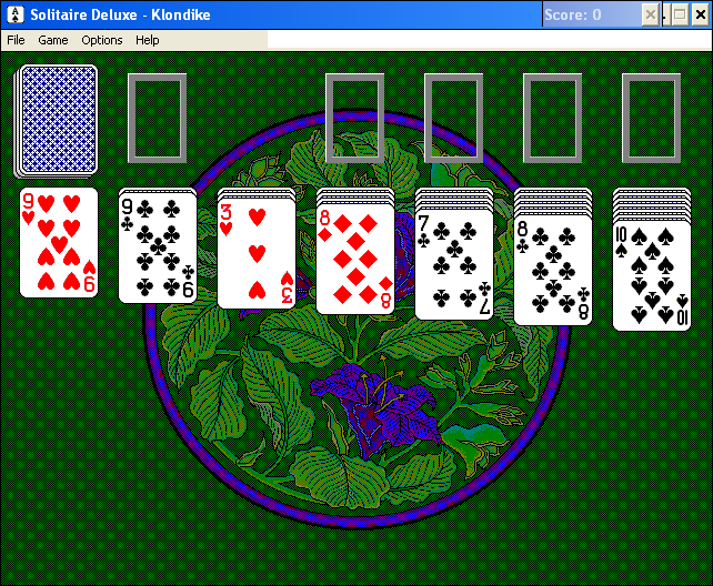 Solitaire Deluxe Windows 3.x Klondike