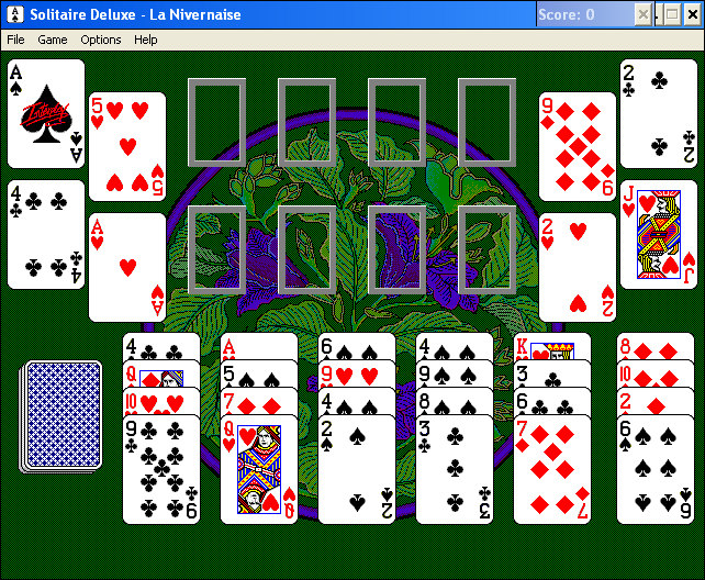 Solitaire Deluxe Windows 3.x La Nivernaise