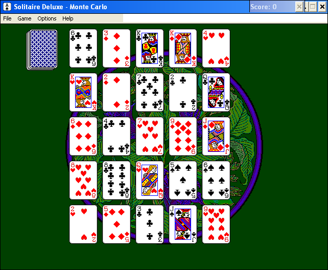 Solitaire Deluxe Windows 3.x Monte Carlo