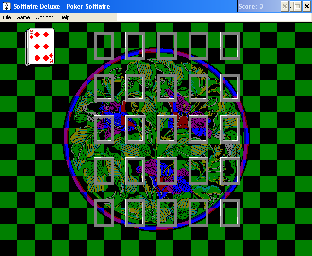 Solitaire Deluxe Windows 3.x Poker