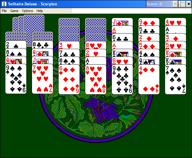 Solitaire Deluxe Windows 3.x Scorpion