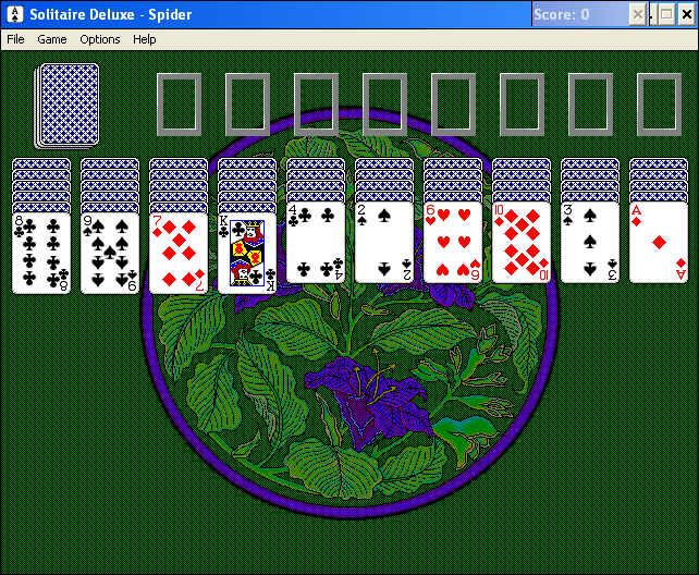 Solitaire Deluxe Windows 3.x Spider