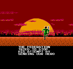 Bionic Commando NES Super Joe didn't make it back, will you?