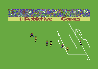 Football Manager Commodore 64 He's through.