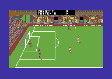 Football Manager 2 Commodore 64 Attacking.