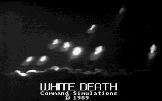 White Death DOS Title screen